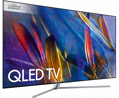 מודיעין סמסונג 55' SAMSUNG QLED 55Q7FN 4K SMART TV Bluetooth VL-65