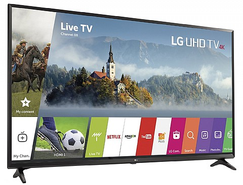 מגה וברק אל גי 65' LG Bluetooth SMART TV 4K 65UJ630Y WZ-99