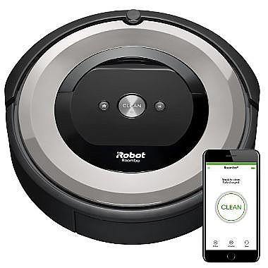 מתוחכם שואב אבק רובוטי איירובוט רומבה iRobot Roomba e5 AJ-73